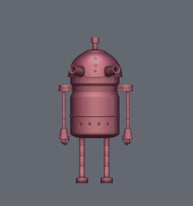 室内-陈设-机器人-04-布丁