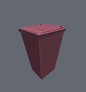 室外-垃圾箱-02-hades