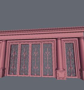 室外-大门-03-艺术设计